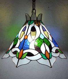 Oferta Lampara X Colgar Tiffany Vitraux De 47 Cm.nueva. - $ 1.025,00