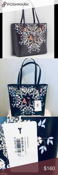 TED BAKER KYTO giardino icona Grande Shopper Tote Bag