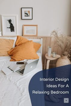 Looking for ways to make your bedroom more relaxing? These bedroom decor tips will help you improve the look of your bedroom design regardless of its decor style!