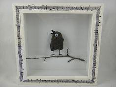 Ines Felix - Kreatives zum Nachmachen: Kleines Steinvögelchen