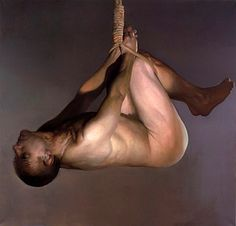 Hanging Man by Vincent Desiderio (1955)