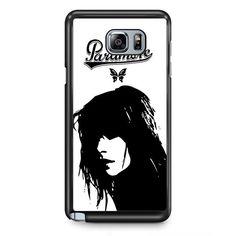 Hayley Williams Paramore TATUM-5197 Samsung Phonecase Cover Samsung Galaxy Note 2 Note 3 Note 4 Note 5 Note Edge