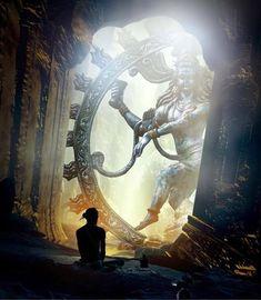 Music Therapy Relaxing - As Nataraja (Sanskrit: Lord of Dance) Shiva represents apocalypse and creation as he dances away the - Mahakal Shiva, Shiva Art, Shiva Statue, Hindu Art, Lord Krishna, Nataraja, Om Namah Shivaya, Lorde Shiva, Orange Ville