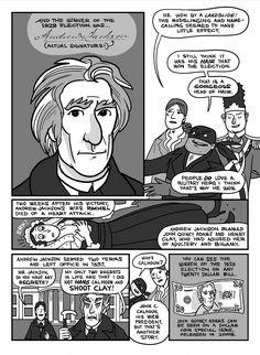 Nathan Hale's Hazardous Tales: The 1828 Election Throwdown Showdown part 4