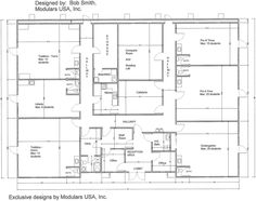 daycare center blueprints | Floor Plan for MindExpander ™ Day Care Center