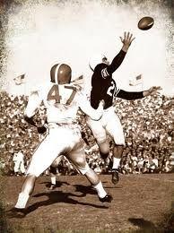 Vintage Football action photos. #SuperBowl Daniel Steckler DMD - pediatric dentist in Lexington Kentucky @ kykidsdentist.com