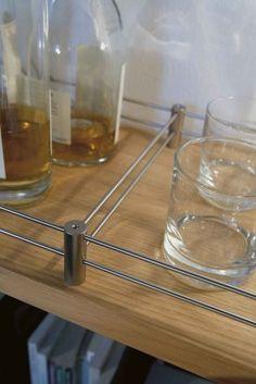 detalle separador botellero tahuma en acero inox. Kitchen, Home, Wine Rack, Steel, Creativity, Cooking, Kitchens, Ad Home, Homes