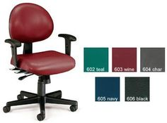 Ofm 241 Vam Aa 24 Hour Computer Mulit Shift Adjustable Vinyl Task Chair