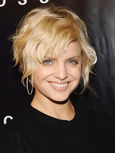 Photos of Short Wavy Hair | 2013 Short Haircut for Women