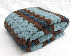 Crochet bebé manta manta del bebé Crochet por JadesClosetBlankets