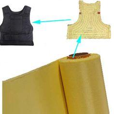 240g Aramid Fiber Cloth Plain Weave Fabric for Bulletproof Vest Bulletproof Jacket kevlar 1414