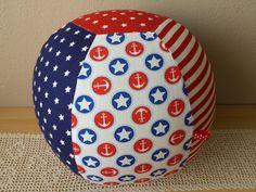 "Luftballonhüllen - Luftballonhülle groß, ""Anker"" 26cm, maritim - ein Designerstück von Lisa-Toews bei DaWanda"
