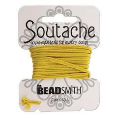 Soutache+Rayon+Cord+3+Yard+Card+by+the+by+beadartjewelrysupply,+$5.98