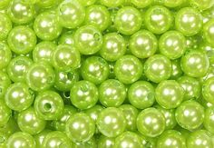 Color Verde Lima - Lime Green!!! Pearls