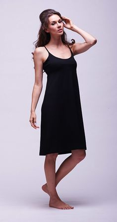 Everyone needs an LBD that makes them feel divine. That rule shouldn't change just because it's bedtime. Our LBD has a high waist to lengthen your legs, a neckline that is beautifully flattering and a lyocell fabric that feels silky against your skin. It's cut to the knee because less is always more with an LBD. If only all parties were pyjama parties. http://www.bluemarmaladelondon.com/shop/nightdresses/blue-marmalade-slip-dress/