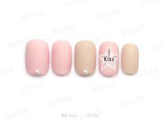simple pink nail