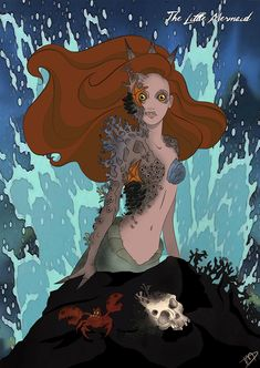 Twisted Disney Princesses deviantART | Twisted Ariel by Kasami-Sensei