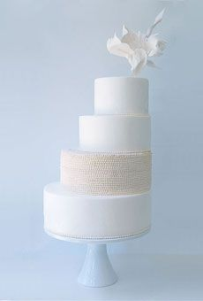 Brides: The 10 Best Wedding Cakes of 2010 | Wedding Ideas | Brides.com