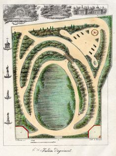 french garden plan Google Search Landscape Pinterest