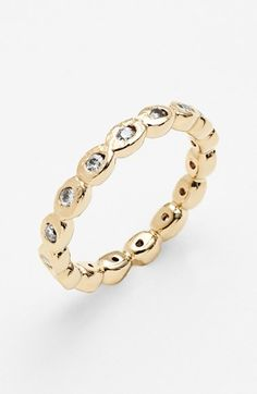 pod eternity band ring / melinda maria