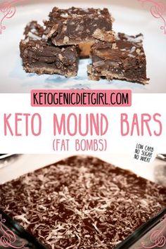 Keto Mound Bar Fat Bombs