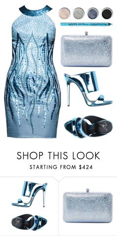 """""""Untitled #1189"""" by lovefashionforever0 ❤ liked on Polyvore featuring Giuseppe Zanotti, Sylvia Toledano, Terre Mère and NYX"""