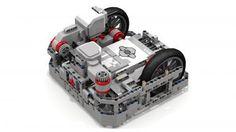 "LEGO Set MOC-2901 - ""Fllying Tortoise"" EV3 Robot"