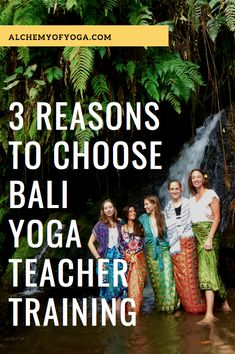 Why Do A Yoga Teacher Training in Bali? 3 Reasons to Take this Transformative Journey of a Lifetime - Alchemy of Yoga Bali Yoga, Yoga Teacher Training, Love Affair, Yoga Inspiration, Encouragement, Bucket, Journey, Earth, Culture