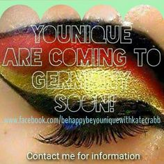 1st of August has been CONFIRMED! Now is the time to jump on board!!! www.youniqueproducts.com/katecrabb  www.facebook.com/behappybeyouniquewithkatecrabb  Contact me :D
