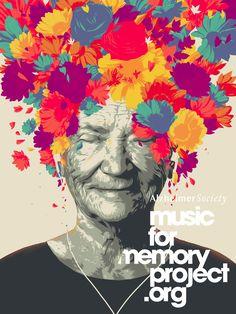 Matt Taylor illustration for Alzheimer Society  #poster #design #inspiration