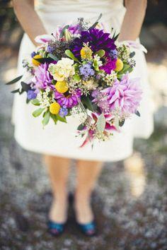 Bouquet perfection. Photography by studiouma.com / Floral Design by oursunnymeadows.com