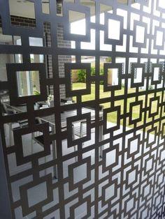 panneau occultant métal zonage-terrasse-jardin