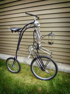 Wicked Cool Skeleton Bike.
