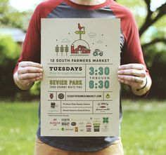 12 South Farmers Market Poster