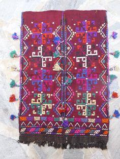 Vintage Homewares Handwoven Turkish Woollen by Pllowcoversetc, $155.00