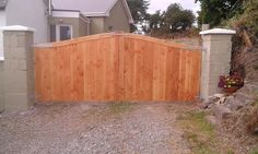 Timber Gates, Outdoor Furniture, Outdoor Decor, Outdoor Storage, Garage Doors, Home Decor, Wood Gates, Decoration Home, Room Decor