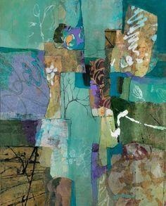 NatureWalk #4 - 30x24 - Susan Greenbaum