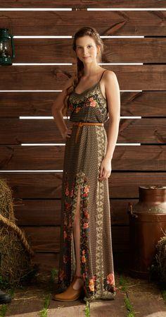 Só na Antix Store você encontra Vestido Longo Floral com exclusividade na internet