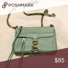 Rebecca Minkoff Mini Mac Bag Cute bag in excellent used condition. Rebecca Minkoff Bags Crossbody Bags