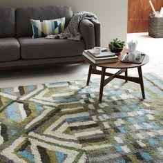 Renove a casa com estampas modernas nos seus tapetes