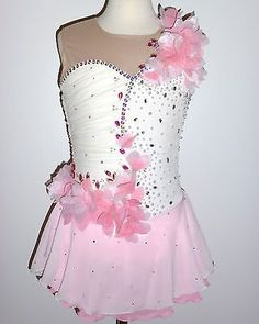 BEAUTIFUL  GORGEOUS FIGURE ICE SKATING DRESS - CUSTOM MADE TO FIT