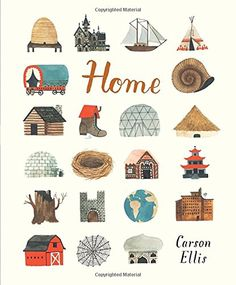 LYNN FARQUHAR (BOOKSELLER) RECOMMENDS: This simple, beautiful children's picturebook written and illustrated by Carson Ellis is all about homes for various human, mythological and historical types, fairyfolk, and animals… and even one for a mysterious mansion-dweller on an unnamed planet.