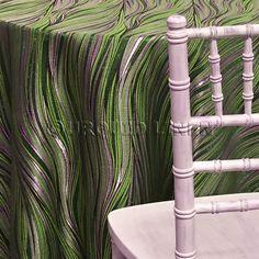 Allure Tablecloth   Green