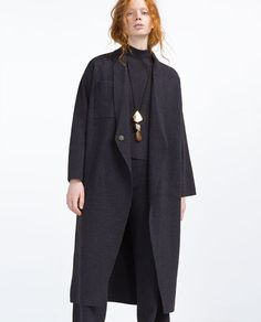 OVERSIZED COAT from Zara
