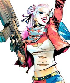 "pam-a-quinn: ""Harley by Scott Dalrymple "" Harley Quinn Drawing, Harley Quinn Cosplay, Joker And Harley Quinn, Comic Books Art, Comic Art, Héros Dc Comics, Poison Ivy Dc Comics, Character Drawing, Character Design"