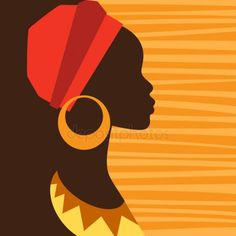 Art as an industry is forever changing. See where these fourteen professional illustrators expect the future to take stock illustrations. African Girl, African American Art, African Women, African Theme, Black Art, Black Women Art, Silhouette Art, Woman Silhouette, Afrique Art