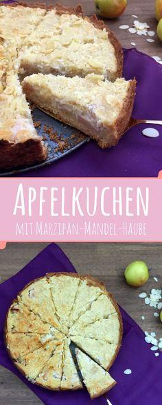 Apfel und Mandeln sind für mich ein absolutes Dreamteam. Zusammen mit Marzipan ein echter Kracher - dieser Kuchen ist einfach zu machen und hat dennoch einen gewissen Wow-Effekt.