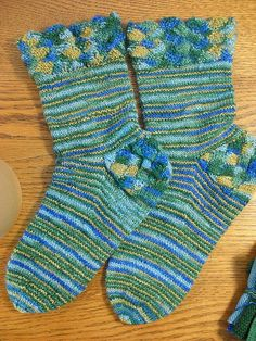 March Mystery Socks in Flat Feet Sock Yarn 2