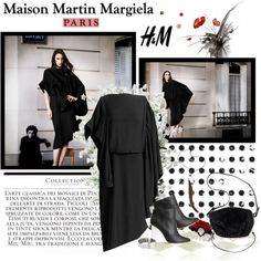 """Maison Martin Margiela with H"" by gigilovesshoes ❤ liked on Polyvore"