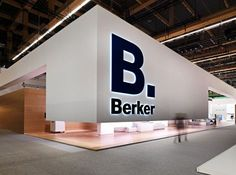 Berker Trade Show Booth #tradeshow #booth #exhibition: